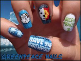 Greenpeace Nails by Ninails