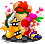 ::.It's love.:: by Bowser2Queen