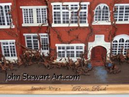 Rose Red house scale miniature by johnstewartart