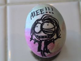 Jackie Flannery Egg by MichellePrebich