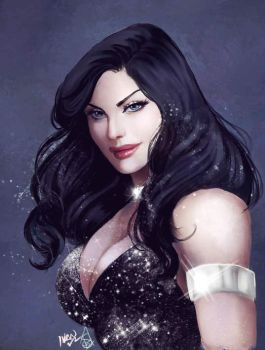 Donna Troy by Forty-Fathoms