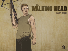 THE WALKING DEAD by MattVTwelve
