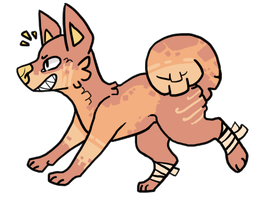 Canine Adoptable - OPEN by Moar-Adoptables