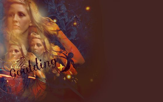 Ellie Goulding - Starry Eyed - Wallpaper by only-thi