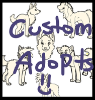 CUSTOM ADOPTABLES by CandyCaane