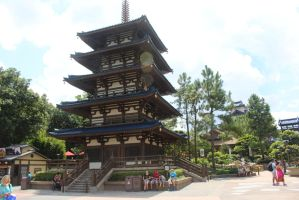 Japanese Tower by Rodreges742