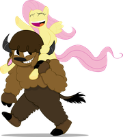 A Bison Ride by GeeksComeOutAtNight