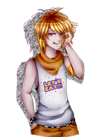 .:FNaF AT : Male!Chica :. by Ailurophile-Chan