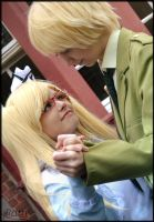 Hetalia/Nyotalia England - May I have this dance? by Nazu-chan
