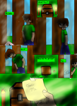Minecraft Comic Edition: Page 2 by Minecraftman101