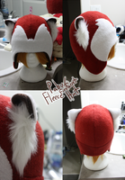 +FleeceHat:Sold+ Pabu/FireFerret. by Stephys-Adoptables