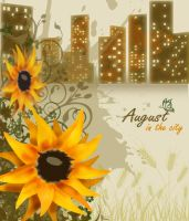 Collage. August in the city by Kirelena