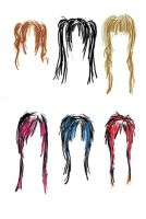 hairstyles. ? by x-kii