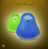 Gumbo Messenger by IconBlock