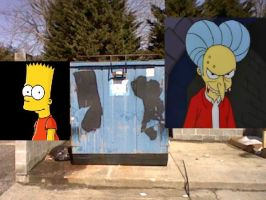Simpsons Dumpster by impostergir007