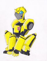 BUMBLEBEE ANIMATED by CHICAIRKEN
