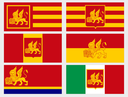 Modern Venice Flags by Martin23230