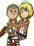 Prince Connie and Princess Armin by lila79