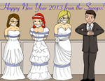 New Year's 2013--Say Yes to the Dress Or Else by MisterMistoffelees