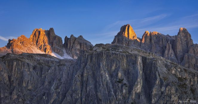 Morning in the Dolomites by AndreasResch
