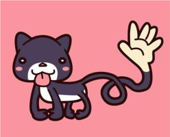 Monster Series No1 - Ahuizotl by mandichan