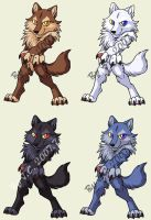 Werewolf pet redraw by J-C