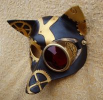 CogMonocle SteamFox mask by merimask