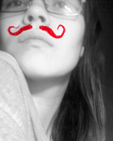 mustache by AnastaSilly