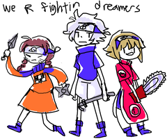 fightin dreamers by NightMargin