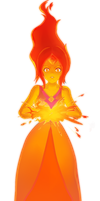 Flame Princess by arrmy