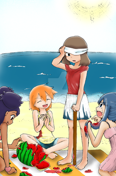 It's summer- time to play! by mizu44contestshipper
