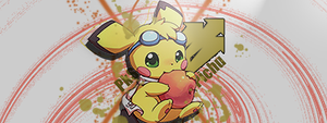 Pichu Apple Vector by Strawtwitch