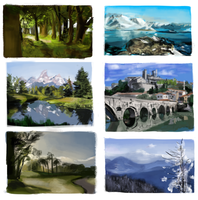 environment studies by LINGDINGDONG