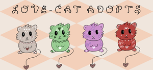 Love-Cat Adopts {OPEN} by TeaCrazy1837