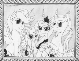 The Night Family *Commission* by The1King