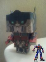 Movie Optimus-Prime Cubee Finished by rubenimus21