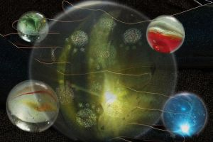 Planets in orbit by Immortal-Physicist