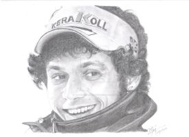 Valentino Rossi (motogp world champion) by turbocharger