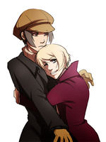 commission - yoite and alois by thanoodles