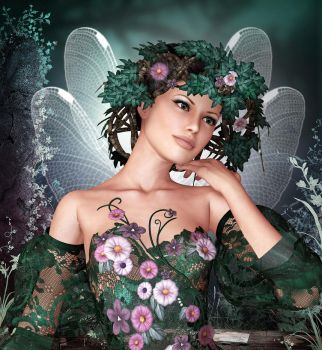 Spring Fae 4 by graphyx2