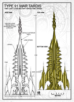 Type 91 TARDIS War Spire Preview by Time-Lord-Rassilon