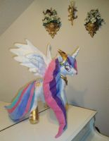 Princess Celestia My Little Pony 24' OOAK Plu by SetsunaKou