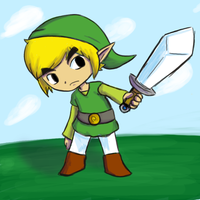 Toon Link by SolarCookie