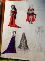 Electra Macbeth costumes act I by Bookworm-Fangirl