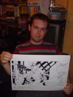 Me and the War of the Worlds drawing by VGRetro