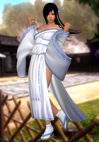 Kokoro(Yumi) Dead or Alive 5 Last Round by XKamsonX
