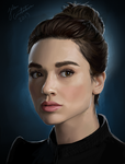 Crystal Reed - Alison Argent by johnneh-draws