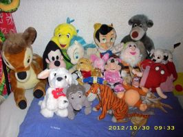 Disney Plush Collection 2012 *Update* 2 by kratosisy