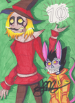 Scarecrow and Rat Trash -Thanks for 70 followers- by KhyberFanGirl101