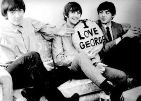 I love George, too by JuliBeatlemaniac